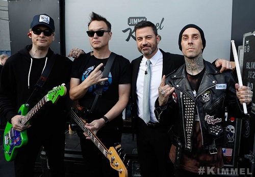Blink-182 on Jimmy Kimmel Live - Las Vegas Residency 2018