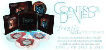 Control Denied Unboxing 'The Fragile Art of Existence' Boxset – Death – Chuck Schuldiner 2018 LP Reissue