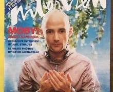 "Moby, ""The end of an era… goodbye Interview Magazine"""