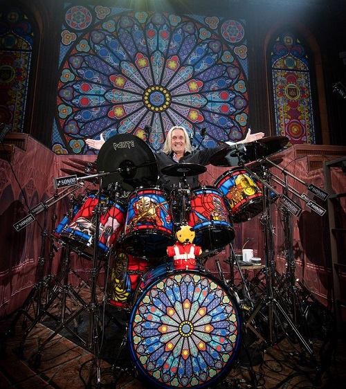 Iron Maiden: Legacy of The Beast Tour 2018 + Nicko McBrain's Drum Set - Drums - Kit - Sonor - Tallinn Setlist