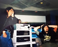 "Rob Zombie, ""In the studio with Alice Cooper back in 1996"" – ""Hands Of Death (Burn Baby Burn)"""