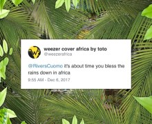 """Weezer """"Africa"""" Premiere – Toto Cover"""