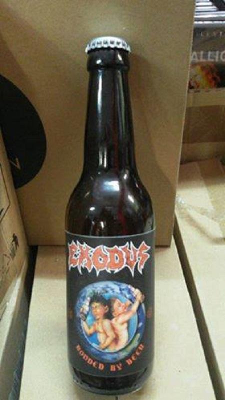 Exodus Beer: 'Bonded By Beer' - Bonded by Blood