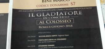 Gladiator Colosseum 2018 Movie Screening w/ Russell Crowe