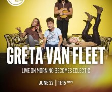Greta Van Fleet on KCRW – Morning Becomes Eclectic 2018