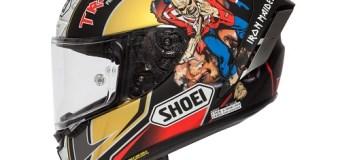 Iron Maiden: Racing Helmet – Limited Edition – Peter Hickman Announcement – Trooper Shoei X-Spirit III