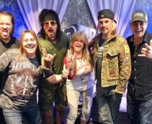 John 5 Working on Animated Video w/ Nikki Sixx, Fred Coury, Susan Olsen