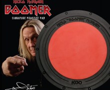 Iron Maiden: Nicko McBrain Signature Practice Pad Announced