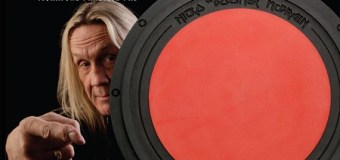 Iron Maiden: Nicko McBrain Signature Practice Pad Announced