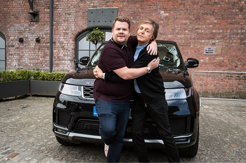 Paul McCartney on Carpool Karaoke - James Corden - The Late Late Show 2018