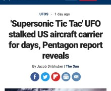 "Tom DeLonge: ""Things are heating up"" Supersonic Tic Tac UFO"
