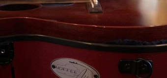 """Kenneth Pattengale, """"Just got my newest """"Air"""" from Hoffee Cases"""" – Milk Carton Kids – Guitar Cases"""