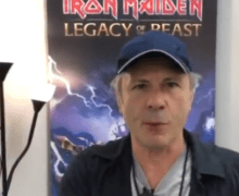 Iron Maiden: Bruce Dickinson on Planet Rock Breakfast w/ Paul Anthony