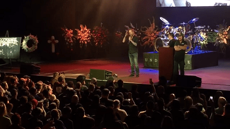 "Chris Adler, ""It was an honor to be able to present a tribute to Vinnie Paul"" - VIDEO - Lamb of God - Pantera - Memorial"