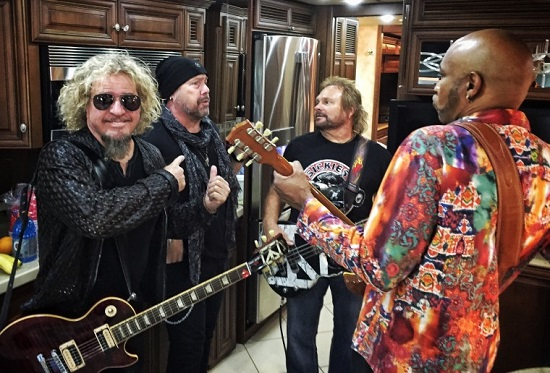 Sammy Hagar's The Circle @ 2018 Murphy Arts District (MAD) Music Festival - Tickets - Bonham, Michael Anthony