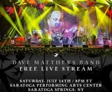 Dave Matthews Band Live Stream Saratoga Springs, NY Concert 2018 – Streaming