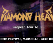 Diamond Head 2018 European Tour Dates Announced