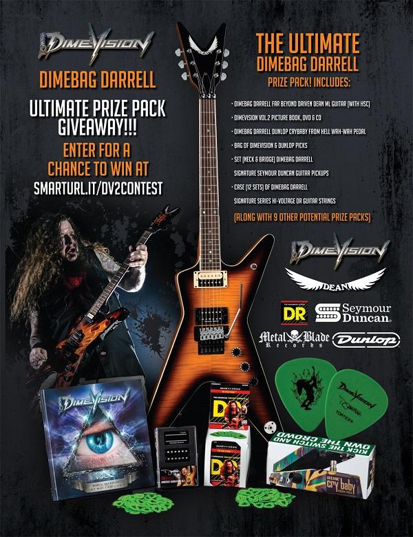 Dimebag Darrell Contest - Chance to Win Dean Guitar, Wah, Pickups, Strings, CD/DVDs - Pantera
