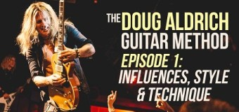 'The Doug Aldrich Guitar Method' Debuts on Guitar World YouTube Page – Instruction, Lessons