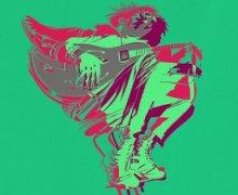 """Gorillaz """"Humility"""" DJ Koze Remix w/ George Benson"""