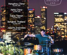 Drummer Mike Johnston To Headline Gretsch 135th Anniversary Clinic Tour – Asia, China, Taiwan, Thailand, Indonesia, NAMM