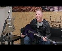 Metallica's James Hetfield Talks Flying V, Explorer, Snakebyte Guitar – ESP – Gibson