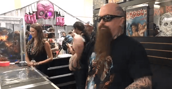Slayer's Kerry King @ 2018 Comic-Con International: San Diego