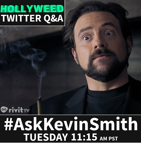Kevin Smith Twitter Q&A - Rivit TV Show Hollyweed #AskKevinSmith