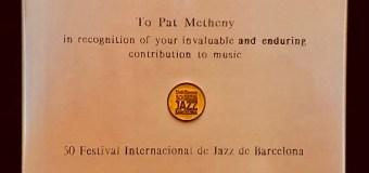 Pat Metheny Honored @ 2018 Barcelona Jazz Festival