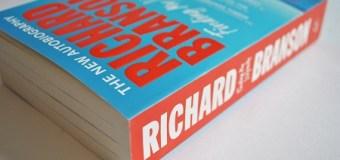 Richard Branson 'Finding My Virginity' Paperback Copies to be Hidden Around London – Autobiography 2018