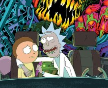 Rick and Morty Soundtrack 2X Album/Box Set/LP – Chaos Chaos, Blonde Redhead, Mazzy Star, Ryan Elder, Chad VanGaalen