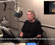 Stephen King to Narrate 'Elevation' – New Novel – 2018 – Audiobook