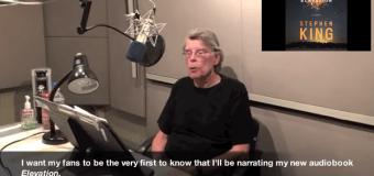Stephen King to Narrate 'Elevation' – New Novel – 2018 – Audiobook