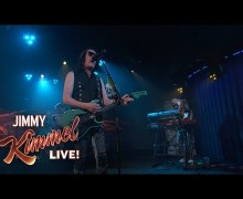 "Todd Rundgren's Utopia on Jimmy Kimmel Live 2018 ""One World"""