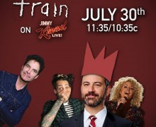 "Train on Jimmy Kimmel Live 2018 – ""Call Me Sir"" ft. Cam, Travie McCoy w/ Kim Kardashian"