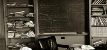 Albert Einstein:  Office Photo Taken On The Day He Died