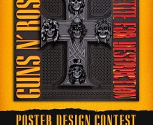 Guns N' Roses Poster Design Contest/Opportunity + Box Set – Locked N' Loaded – Appetite For Destruction