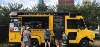 Third Man Rolling Record Store @ Lollapalooza in Chicago 2018