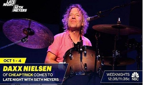 Cheap Trick: Daxx Nielsen on Seth Meyers - In For Fred Armisen - Late Night 2018