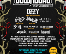 2019 Download Festival Australia Lineup Announced – Ozzy, Slayer, Judas Priest, Alice in Chains – Melbourne, Sydney