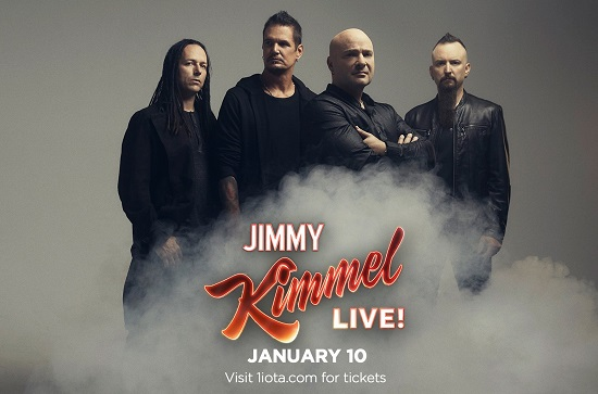 Disturbed on Jimmy Kimmel Live 2019 - VIDEO - Watch It