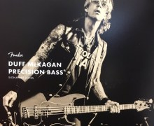 NAMM 2019: Duff McKagan of Guns N' Roses Talks New Fender Signature Bass