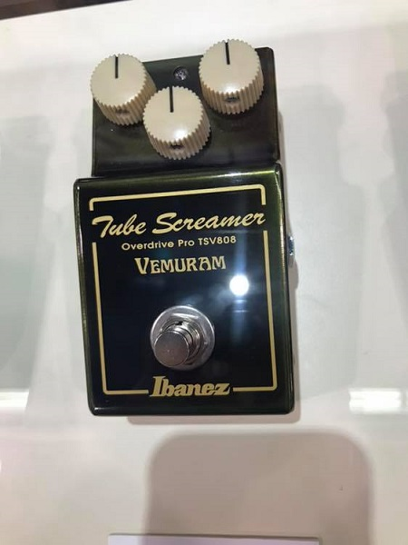 NAMM 2019: Ibanez Tube Screamer TSV808 Guitar Pedal Vemuram w/ DEMO VIDEO