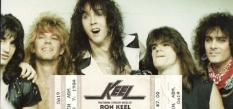 April 7, 1984 – The Debut Concert of Keel