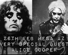 UPDATED: John 5 w/ Alice Cooper @ Club Red Mesa, AZ Show – VIDEO