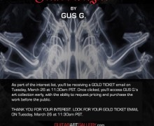 Guitarist Gus G Art Collection/Gallery – Pre-Release w/ VIDEO