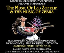 Zebra w/ Orchestra in Baton Rouge, LA – THE MUSIC OF LED ZEPPELIN and THE MUSIC OF ZEBRA – Tickets