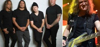 """Ron McGovney:  """"Thanks David Ellefson. You are an awesome bassist and a really great guy"""" – Metallica/Megadeth"""