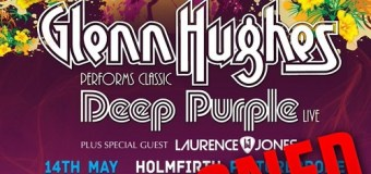 Glenn Hughes Postpones 2019 UK Tour Dates Due to Illness