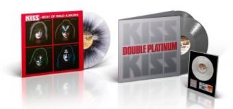 KISS 'Double Platinum' 'Best of Solo Albums' German Import 2019 2 LP/Vinyl w/ Award